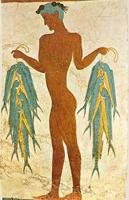 Фрагмент фрески (Санторини)