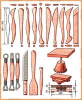 Инструменты для лепки