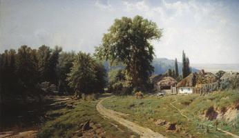 Хутор в Малороссии (К.Я. Крыжицкий)