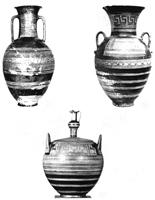 Аттическая керамика «строгого стиля». II п. IX в. до н.э.