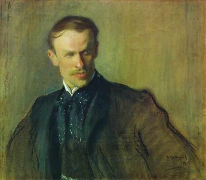 Портрет Л.П. Альбрехта.