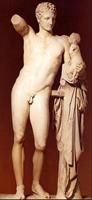 Пракситель. Гермес с младенцем Дионисом. IV в. до н.э. Олимпия, Археологический музей