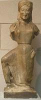 Статуя Ники. Архерм. VI в. до н.э. Афины, Национальный музей