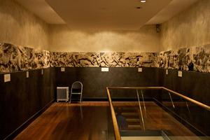 Скульптурное убранство храма Аполлона, выставленное в местном музее