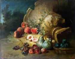 Натюрморт с фруктами (Жан-Батист Удри)