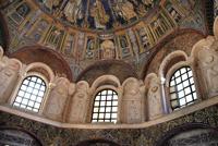Интерьер баптистерия православных в Равенне