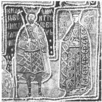 Деталь передней стороны саккоса митрополита