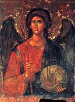 Движки на иконе Архангела Михаила