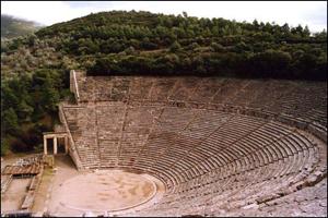 Театр в Эпидавре, Греция