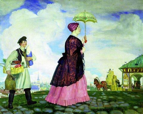 Купчиха с покупками (1920 г.)