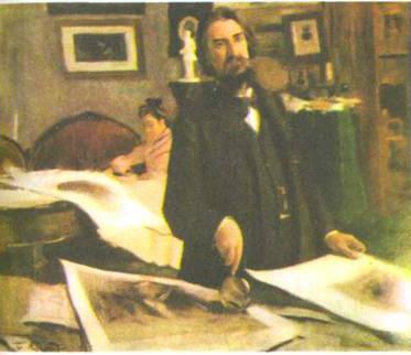 Портрет художника-гравера В.В. Матэ (1902 г.)