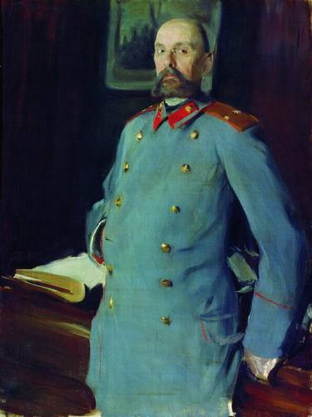 Портрет коменданта Мариинского дворца генерал-майора Павла Аркадьевича Шевелева.