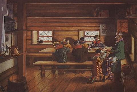 Земская школа в Московской руси (1907 г.)