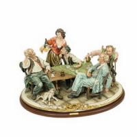 Игроки в карты (фарфор Каподимонте)