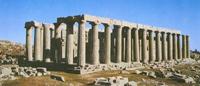 Храм Аполлона Эпикурейского в Бассах (430 г. до н.э.)