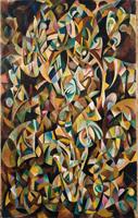 Танец. Беспредметная композиция (А.М. Родченко 1915 г.)
