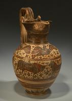 Ойнохоя. Коринф. Ковровый стиль. 580-570 до н.э.