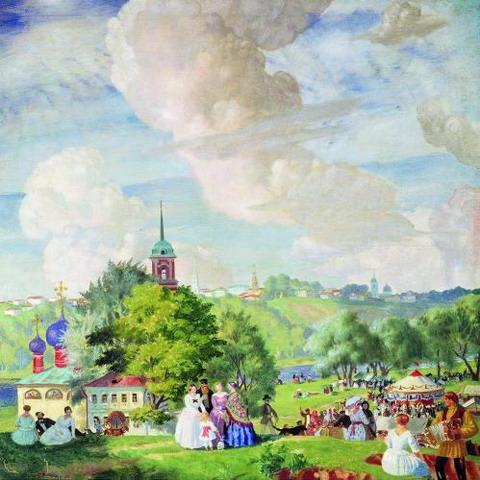 Летний праздник. 1923