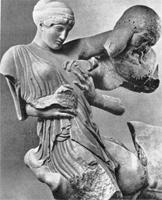Западный фронтон храма Зевса в Олимпии. I половина V в. до н.э.