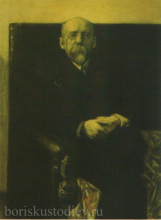 Портрет Ф. К. Сологуба.