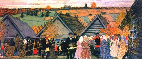 Праздник в деревне (1907 г.)