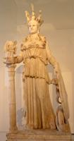 Афина Парфенос. Фидий. 447—438 гг. до н. э.