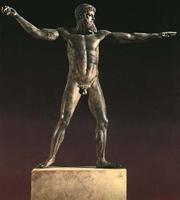 Посейдон с мыса Артемисион. Около 460 г. до н.э. Афины, музей