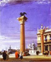Колонна Св.Марка в Венеции (Р. Боннингтон)
