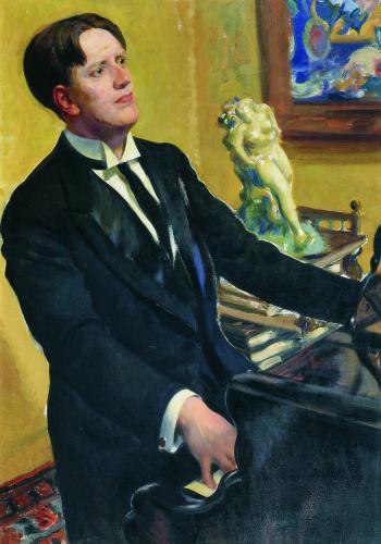 Портрет композитора Д.В.Морозова. 1919