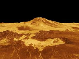 Рельеф поверхности Венеры