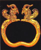 Браслет Аму-Дарьинского клада. V в. до н.э.