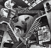 Вавилонская башня (Морис Эшер)