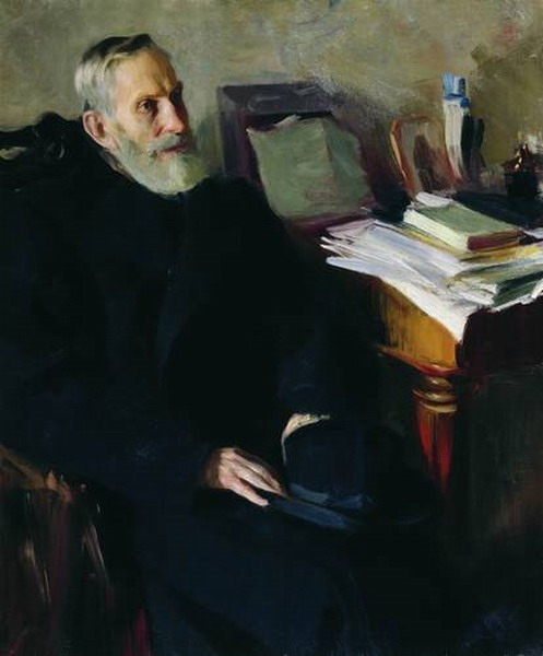 Портрет Степана Лукича Никольского, дяди художника.