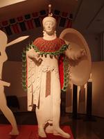 Афина. Скульптура фронтона храма Афины Афайи. Остров Эгина, Греция