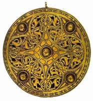 Брошь Стрикленда (Золото, синее стекло, IX век.)