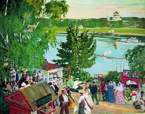 Гулянье на Волге (1909 г.)