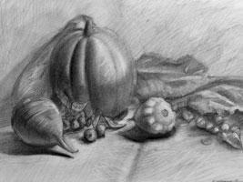 Натюрморт с тыквой (2008 г.)