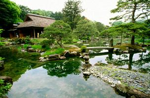 Императорский сад Виллы Катсуро (Киото)