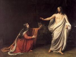 Явление Христа Марии Магдалине после воскресения (А.А. Иванов)