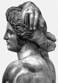 Пракситель. Статуя Аполлона Ликейского (Фрагмент. Музей Агоры. Афины)