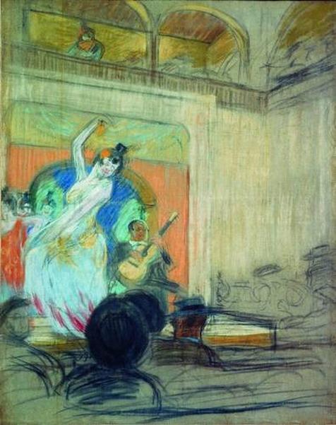 Танцовщица в кабаре.