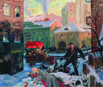 Октябрь в Петрограде, 1927 год