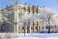 Зимний дворец зимой