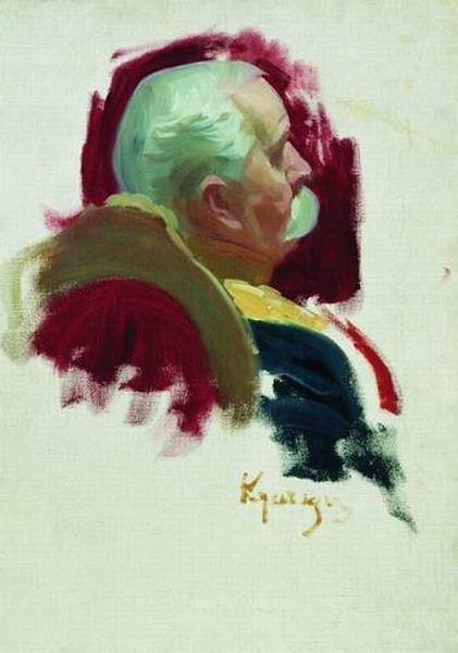 Сенатор П. А. Сабуров.