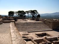 Руины Фестского дворца