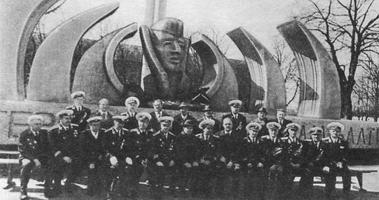 Ветераны ДКБФ на открытии монумента Славы героям в Калининграде
