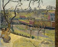 Весна и маленькие фавны (Пьер Боннар, 1909 г.)