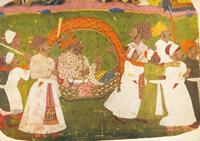 Раджа в паланкине (Около 1780 г.)