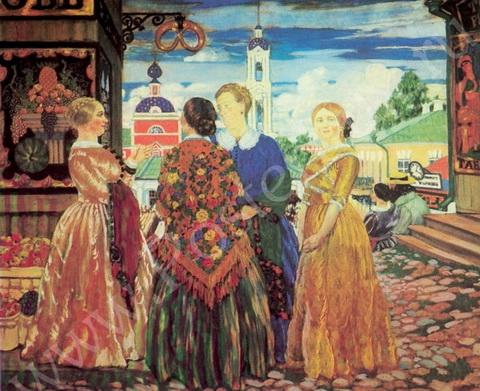 Купчихи в Кинешме (1912 г.)