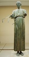 Дельфийский возничий. Бронза. Около 470 г. до н.э. Дельфы. Музей